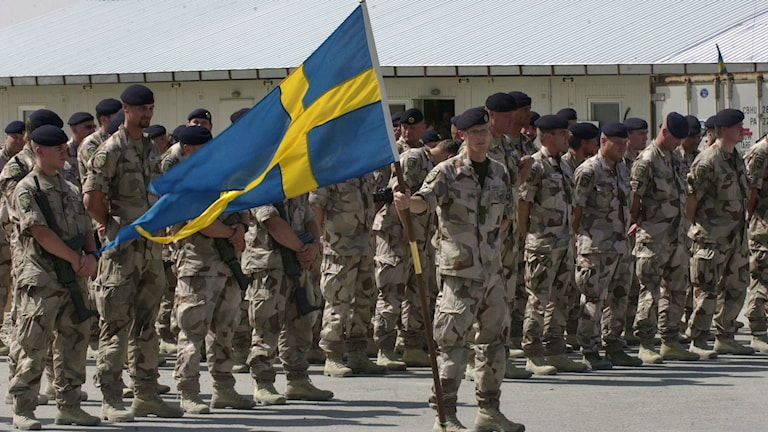 Swedish troops were in Afghanistan as part of NATO-led forces. Photo: AP Photo/Sameer Najafizada/TT