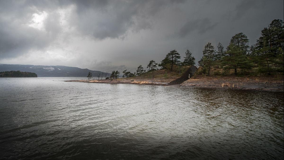Utöya memorial. Photo: Jonas Dahlberg Studio / NTB scanpix / TT.