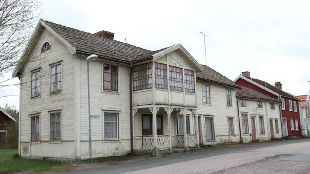 Sweden's cheapest house in Ingatorp. Photo: Roger Karlsson // Fastighets Byrån Eksjö