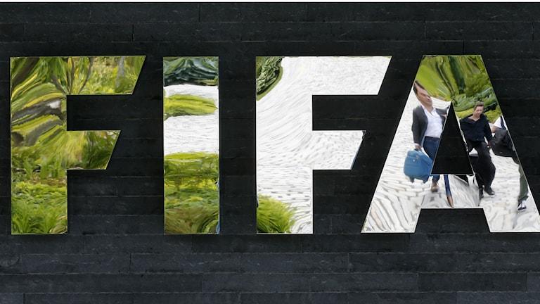 The international football federation FIFA. Photo: Michael Probs/AP Photo/TT