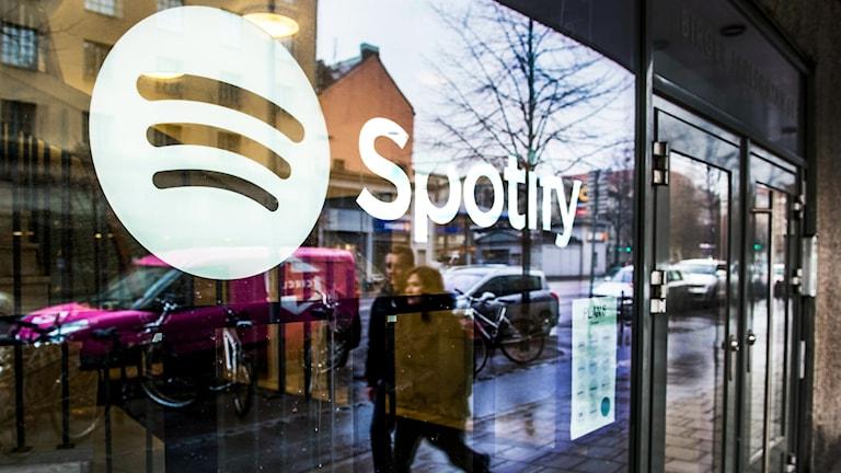 Web developers for Spotify in Stockholm. Photo: Lars Pehrson / SvD / TT.