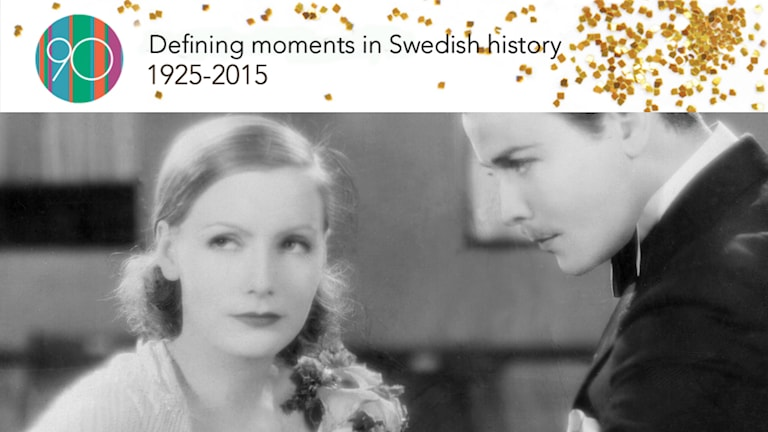 Actress Greta Garbo was one of the first Swedish actresses to make it in Hollywood. Photo: SVT Bild.