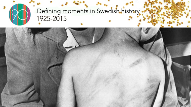 Sweden banned corporal punishment in the home in the 1970's. Photo: SVT Bild.