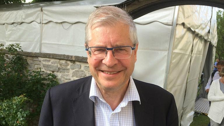 The head of the government study, Ingemar Skogö, Photo: Anders Ljungberg/Radio Sweden