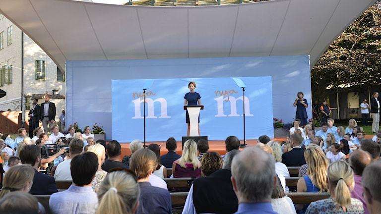 Anna Kinberg Batra at Almedalen 2015, Photo: Henrik Montgomery/TT