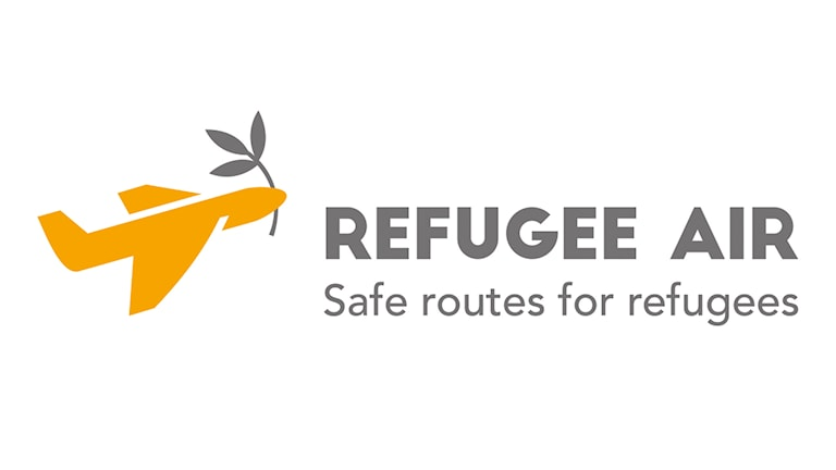 The Refugee Air logo.