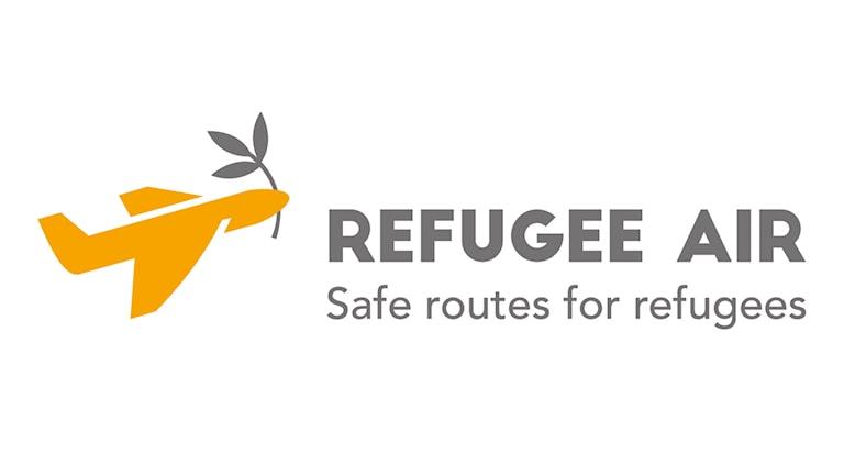The Refugee Air logo.