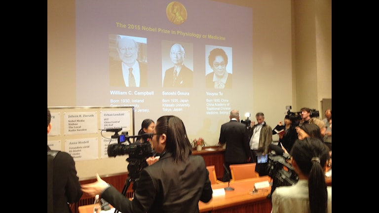 The 106th announcement of the Nobel prize in Physiology and Medicine.
