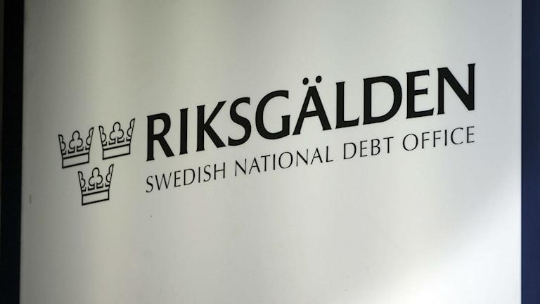 Riksgälden, the Swedish National Debt Office. Photo: Fredrik Sandberg / TT.
