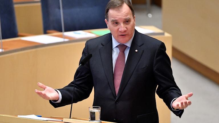 Prime Minister Stefan Löfven. bcb7e19853f56