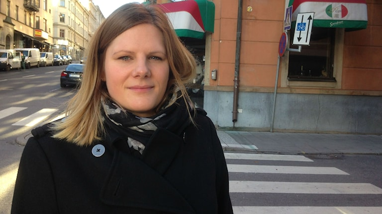 Jenny Petersson, Moderate Party lawmaker, says a job in a restaurant can be a first step, or a long-term choice. Photo: Loukas Christodoulou/Sveriges Radio