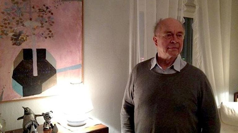 Kjell Bolund, Chairman of Astrid Lindgren Society at the world-famous author's home. Photo: Helen Preutz