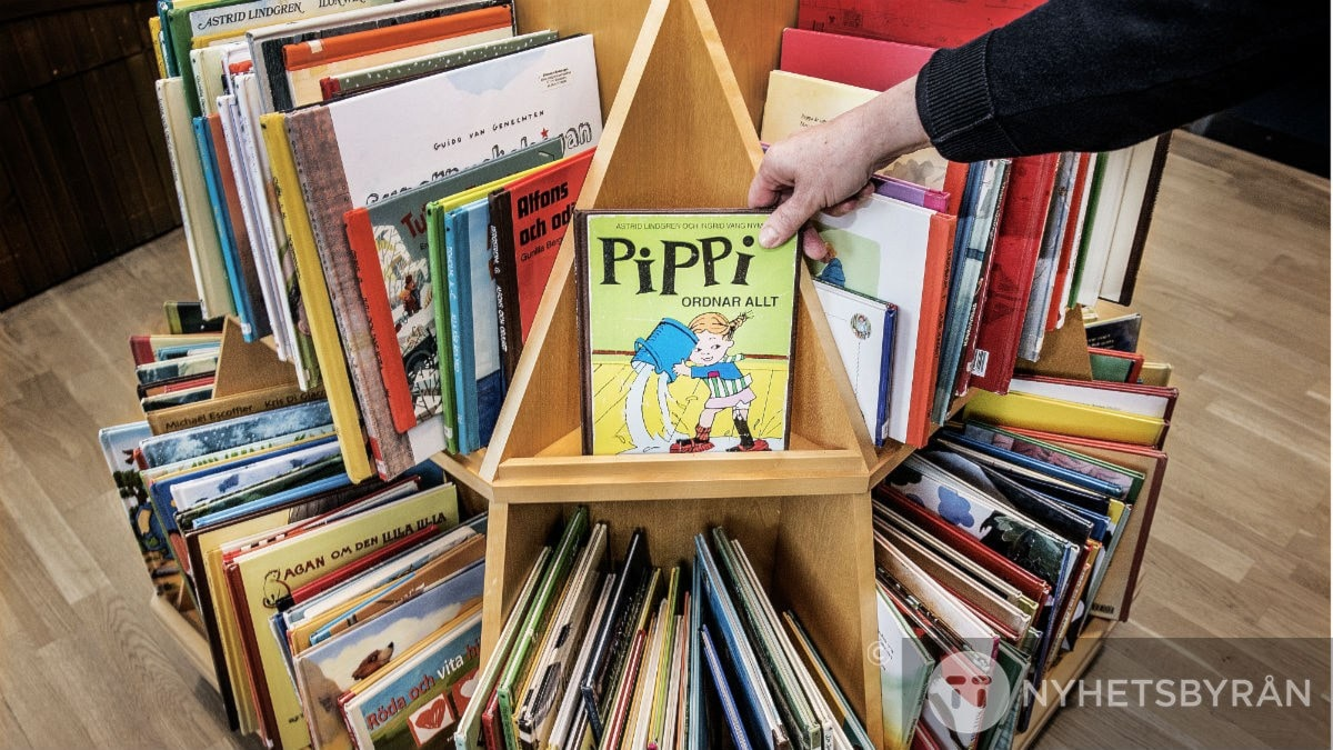 Reading books is a step on the way to find your own voice, according to the teachers. Photo: Tomas Oneborg/TT