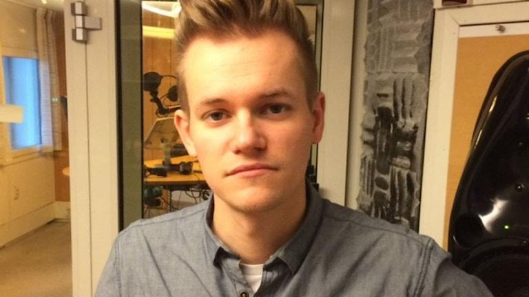 Freelance journalist Joakim Medin. Photo: Ulla Engberg/SR