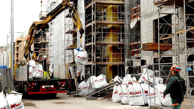 Building site. Photo: Ingvar Karmhed/TT
