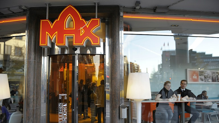 A Max restaurant in downtown Stockholm. Photo: Leif R Jansson / TT.