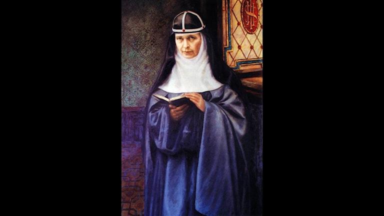 A portrait of Maria Elisabeth Hesseblad, who was born in Fåglavik, Sweden, on June 4, 1870, and died on April 24, 1957, in Rome.  (AP Photo/HO) Code: 433 COPYRIGHT SCANPIX SWEDEN