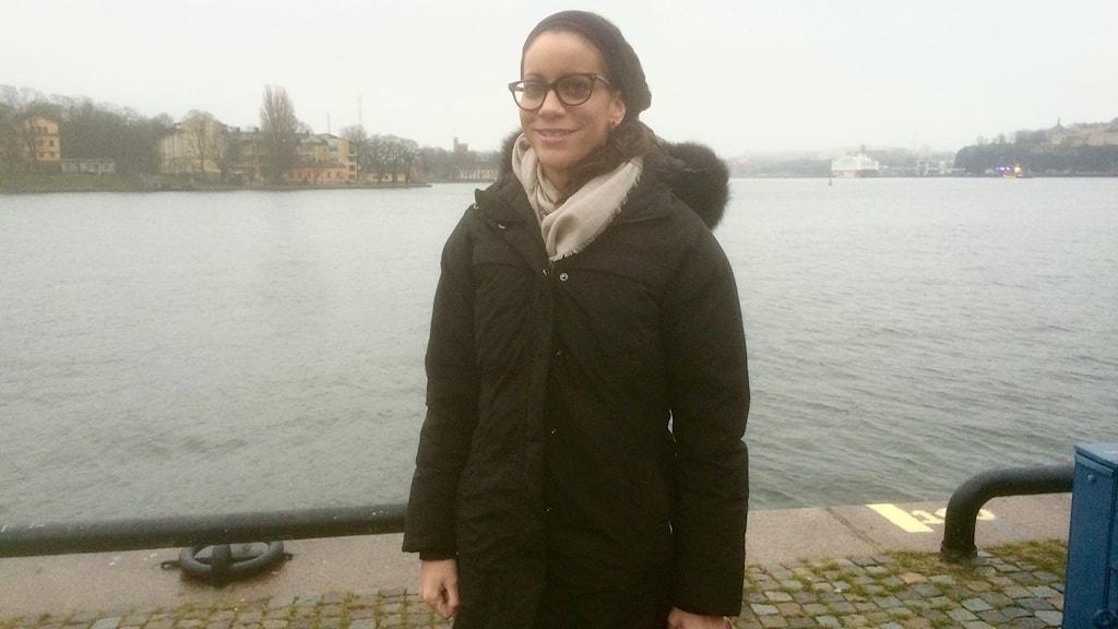 Minna Epps, MSC's program director for Scandinavia and the Baltic Sea Region. Photo: Ryan Tebo/Sveriges Radio.