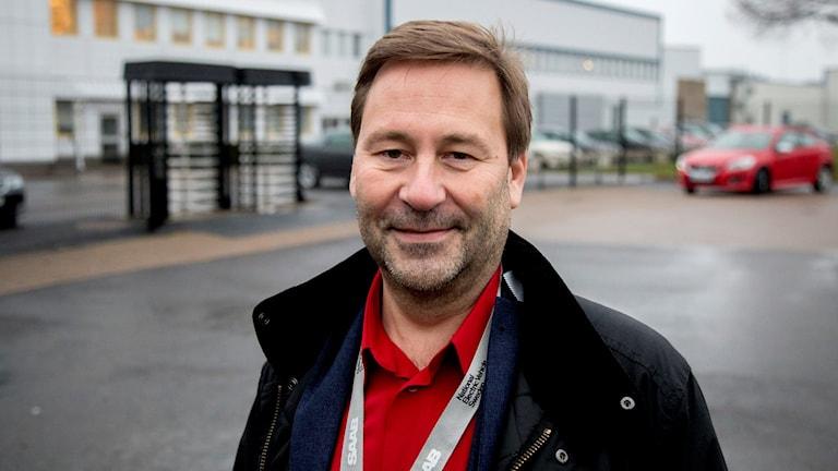 Mikael Östlund, head of communication for Nevs. Photo: Adam Ihse / TT