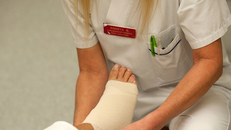 Assistant nurses need extra wage rises according to the union. Photo:  Leif R Jansson/TT