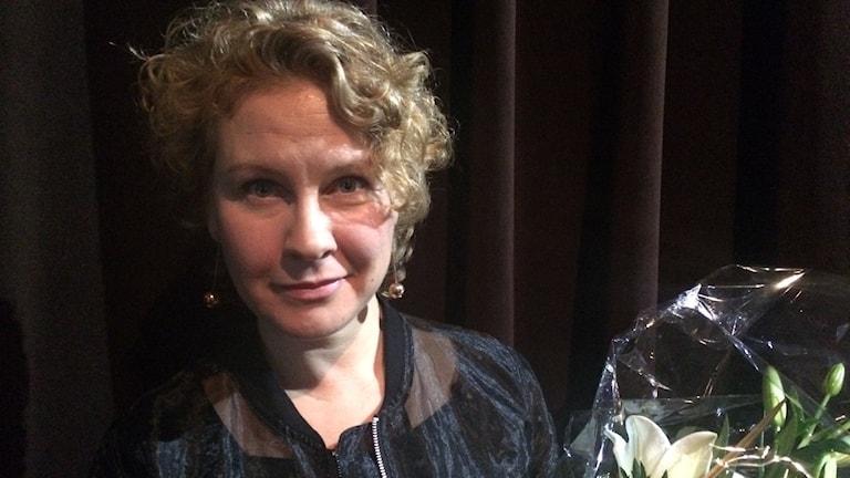 Eva Melander. Photo: Brett Ascarelli / Radio Sweden