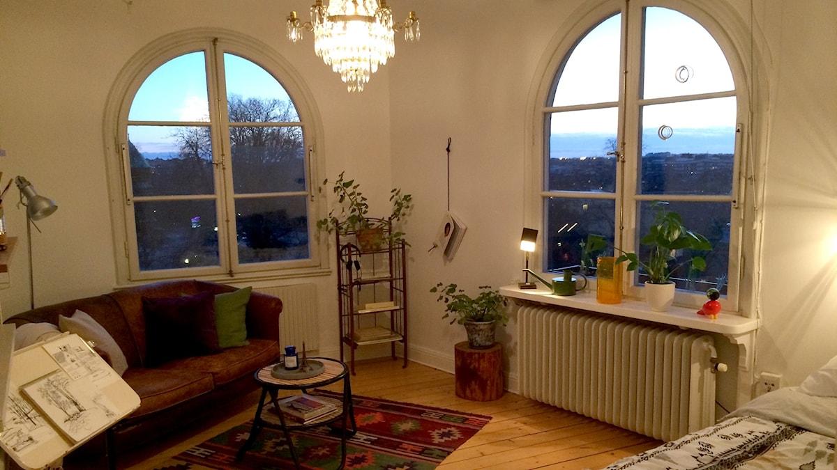 This 27-square-meter apartment on Södermalm sold for SEK 3.5 million. Brett Ascarelli / Radio Sweden