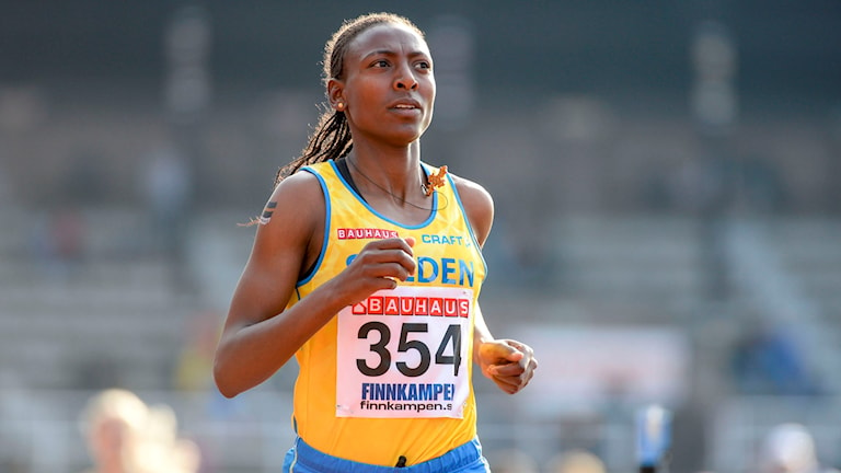 Runner Abeba Aregawi. Photo: TT