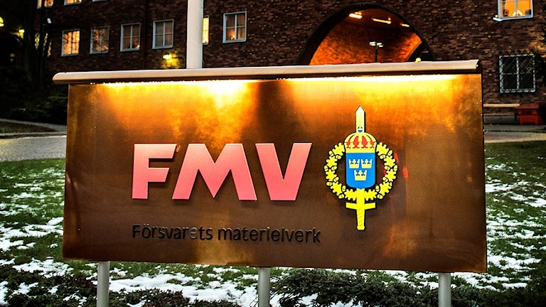 The Swedish Defence Materiel Administration. Photo: Tomas Oneborg/TT