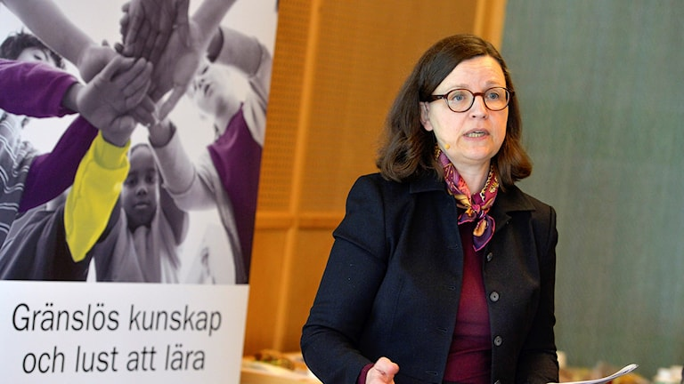 Anna Ekström general director of the National Agency for Education