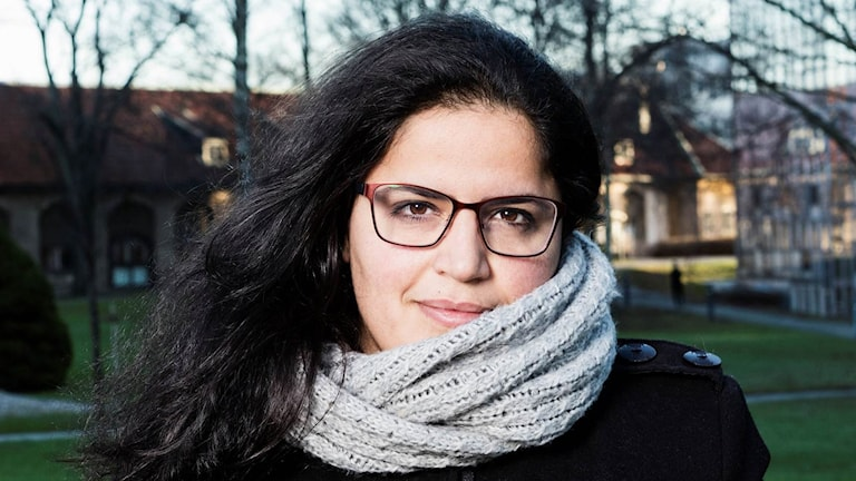 May Alekhtyar, Syrian engineer, blogger and radio rookie in Sweden.