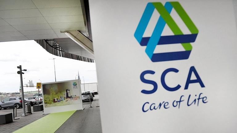 SCA, a leading Swedish paper and hygiene product company. Photo: Pontus Lundahl / TT.