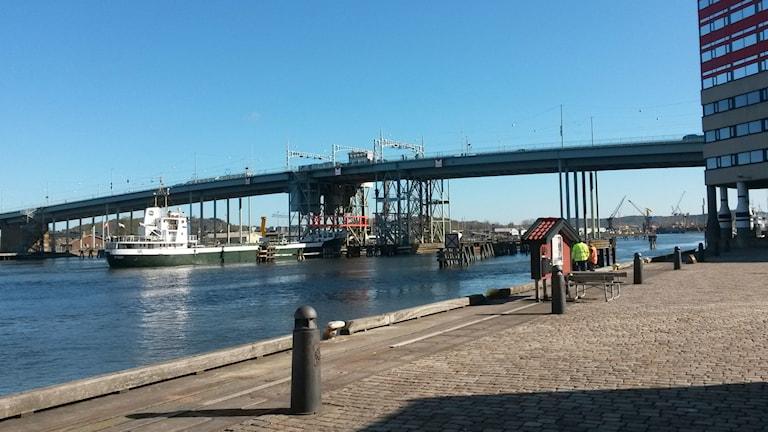 The bridge over Göta Älv. Photo: Micke Larsson / TT