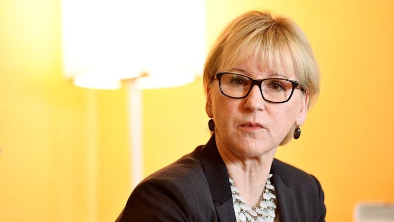 Foreign Minister Margot Wallström. Photo: Marcus Ericsson/TT