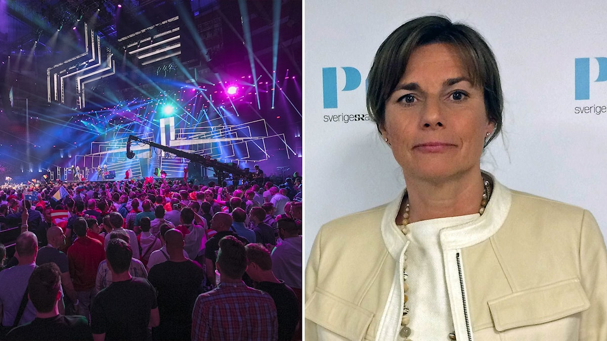 The start of Eurovision and the nomination of Isabella Lövin to co-lead the Greens are the main issues covered in this week's podcast. Photo: SR / Andres Putting/EBU. Montage: SR