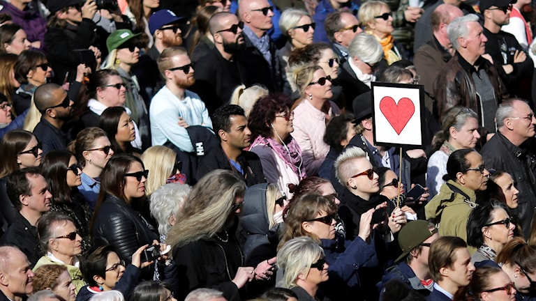 Stockholm's Lovefest rally disgusted many in the Swedish far right.