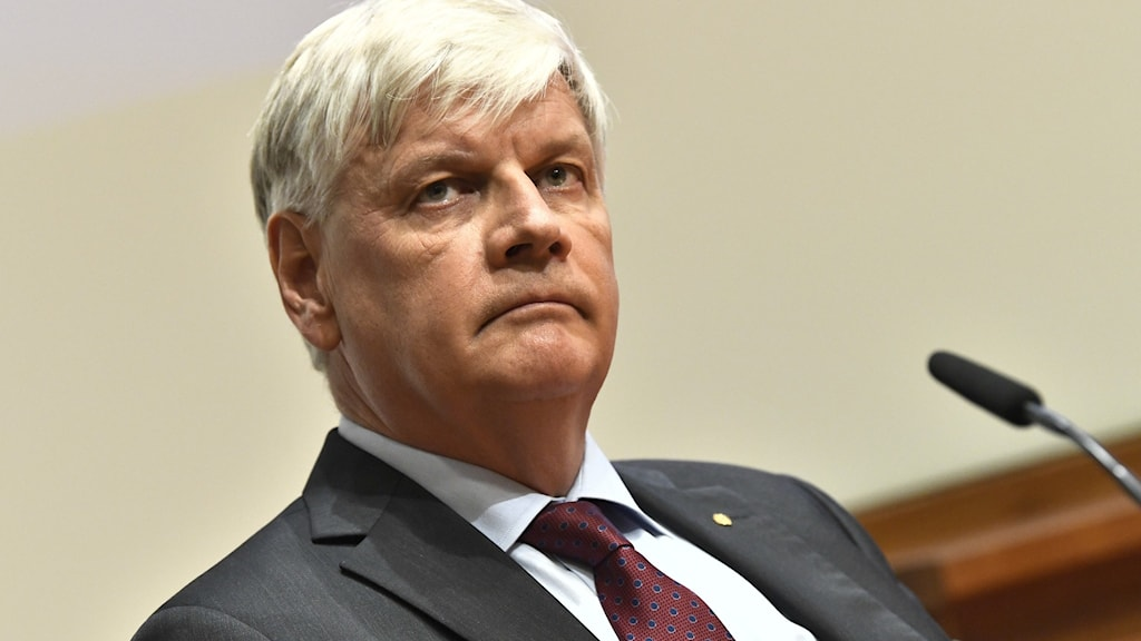 Picture of Nils Göran Larsson, chairman of the Nobel committee