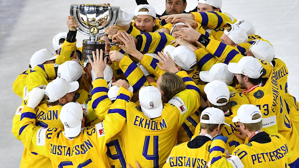 Sweden wins World Cup in ice hockey