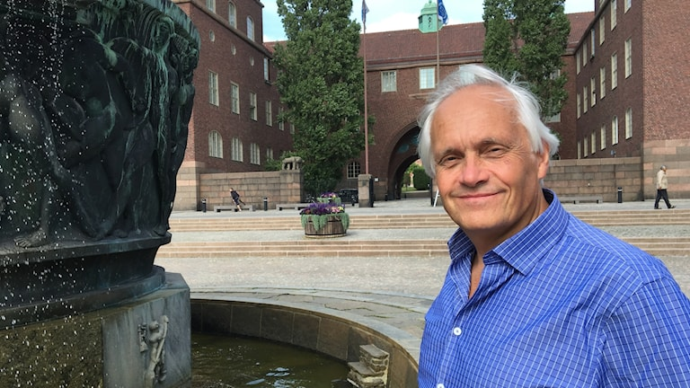 Professor Bo Olofsson at the KTH campus in Stockholm.