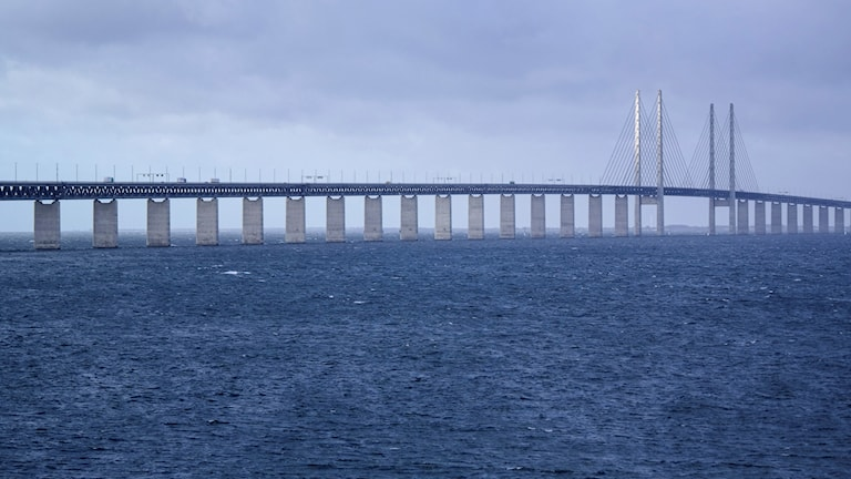 The Öresund bridge joins the Danish capital with the Swedish city of Malmö. Photo: Erland Vinberg/TT