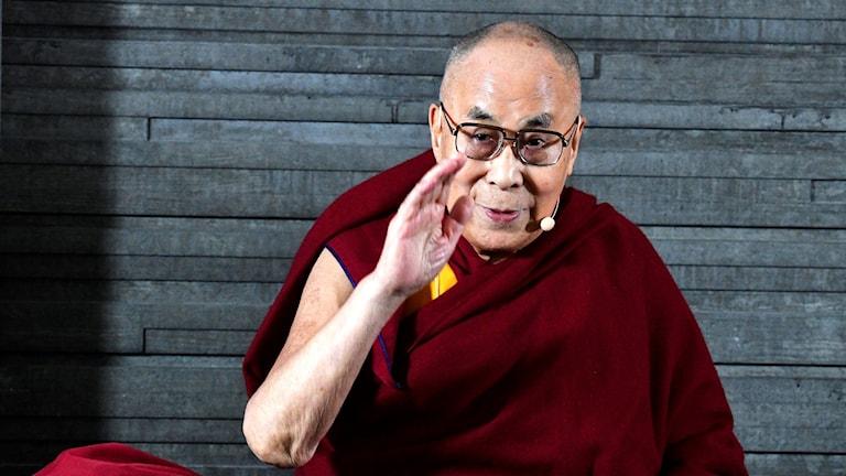 The Dalai Lama visits Malmö.