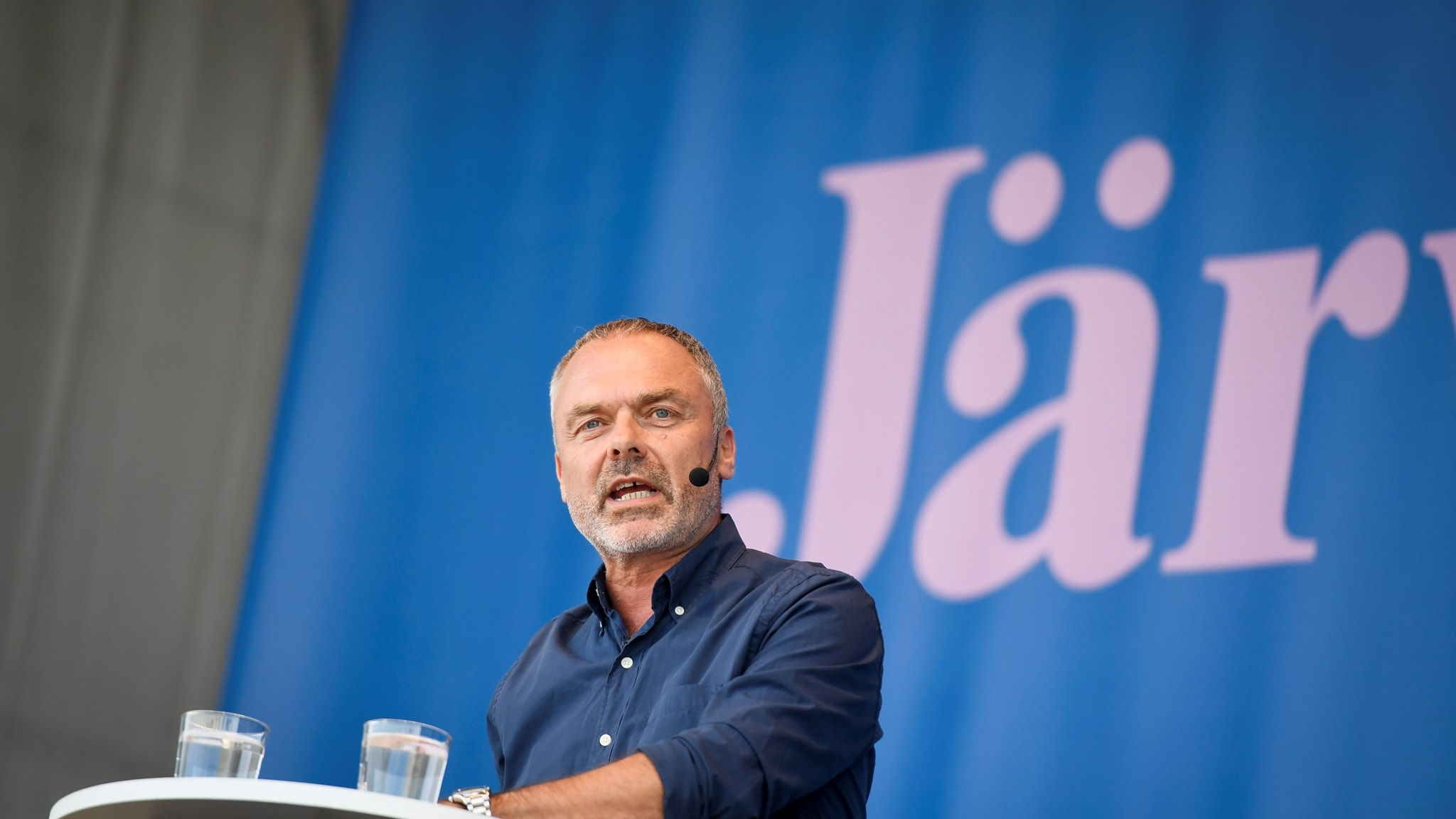 Jan Björklund (L) talar i Almedalen 2018