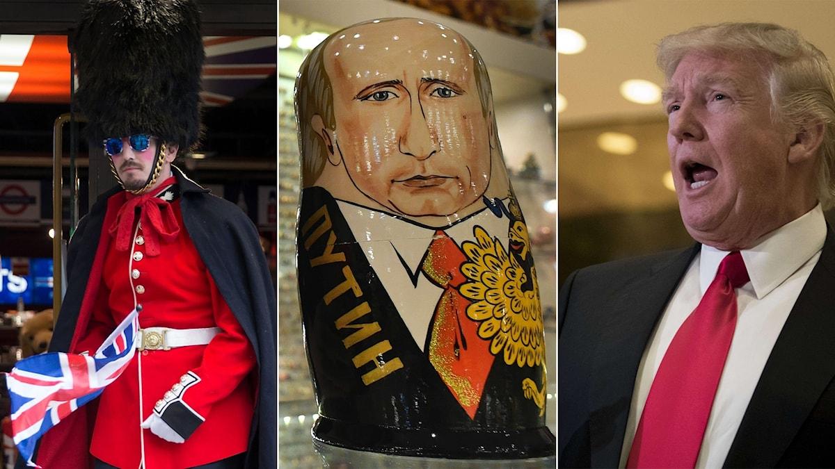 Brexit, Putin, Trump