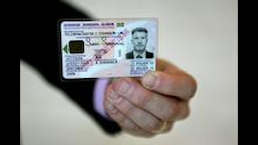 A Swedish ID card, Photo: Jessica Gow/Scanpix