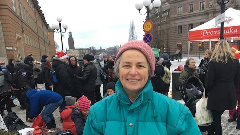 Climate activist Janine O'Keefe.