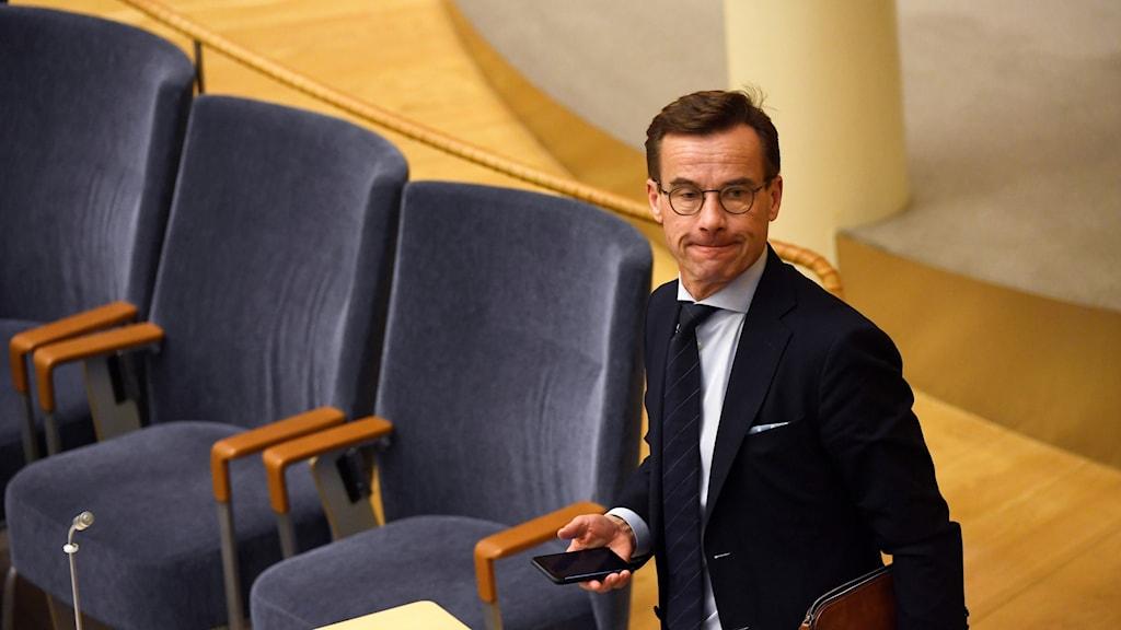 Ulf Kristersson loses the prime minister vote.