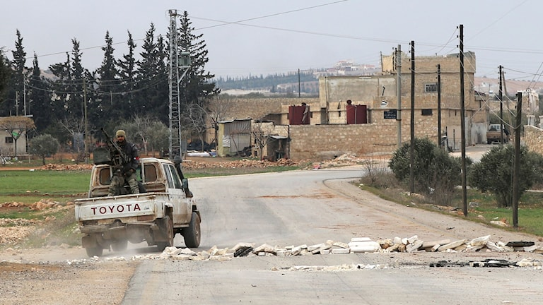 The convicted man was part of a rebel group that killed Syrian government soldiers.