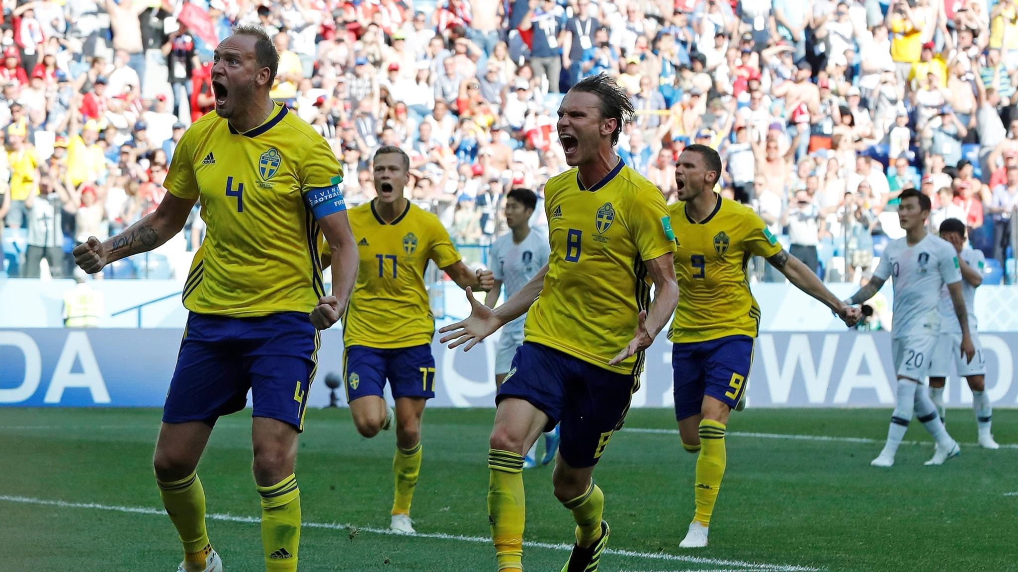 Sweden beats S. Korea, Sweden Democrats want out of EU, rainy Midsummer