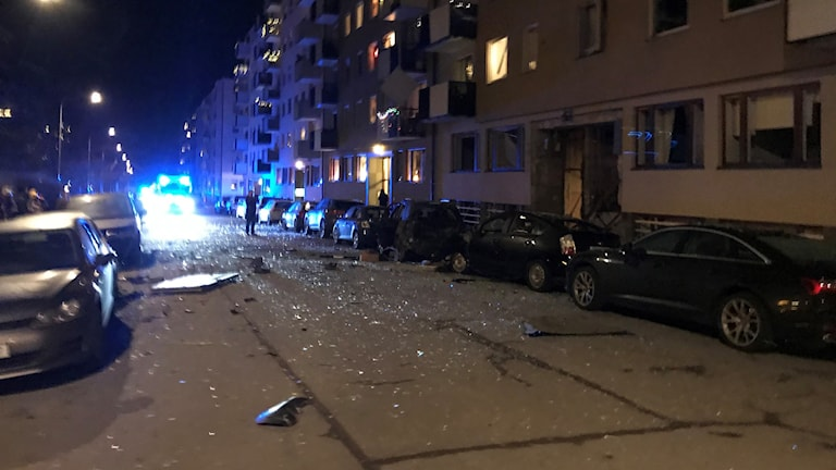 explosion östermalm stockholm