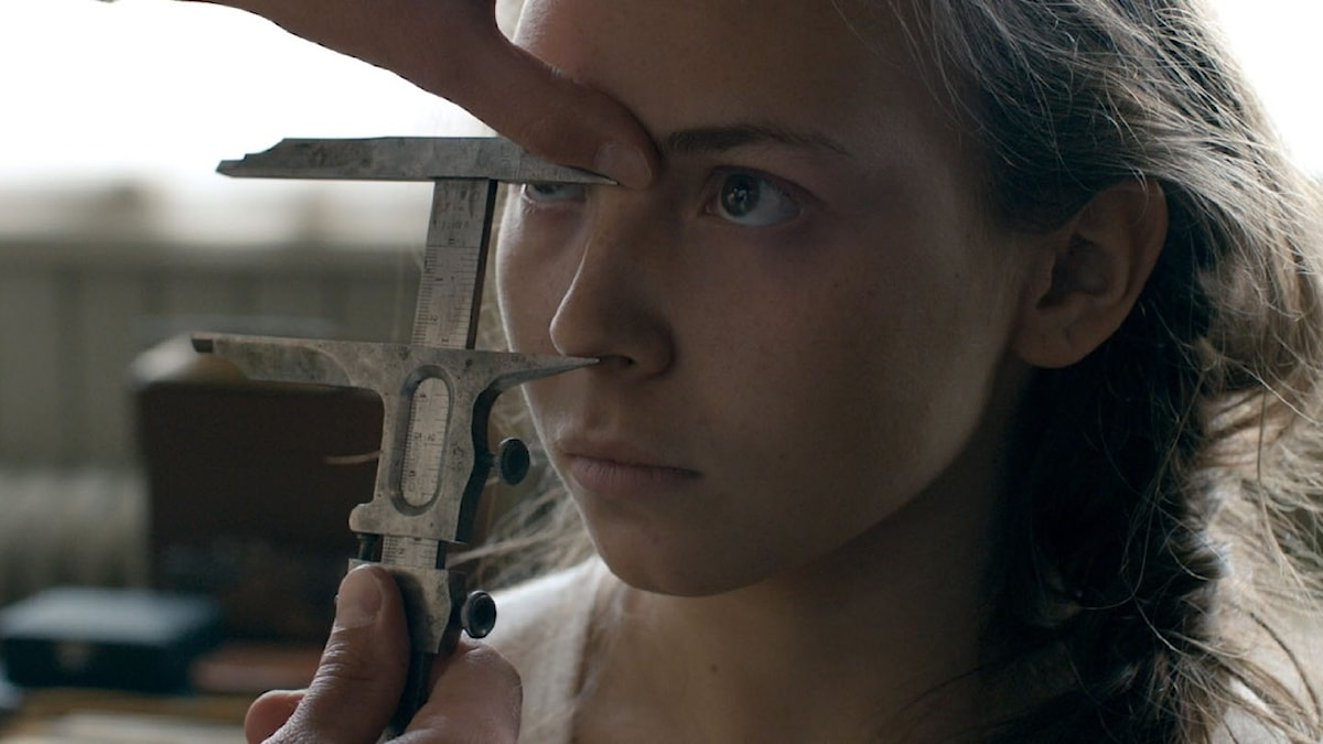 Lene Cecilia Sparrok as Elle-Marja in the film Sami Blood.
