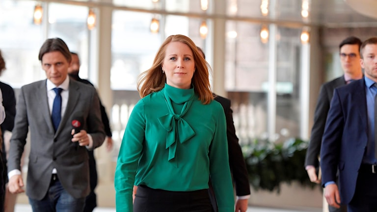 Centre party leader Annie Lööf has abandoned her efforts to try and reach cross-party agreement on a new government.